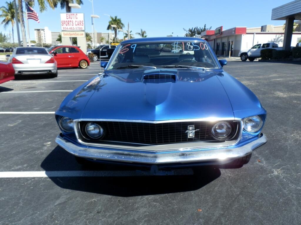 1969 Ford Mustang 2-Door Sedan