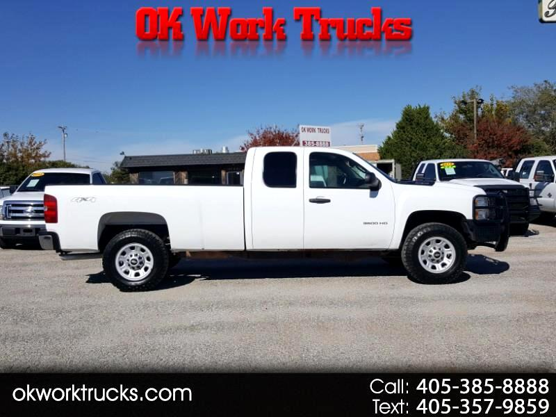 2013 Chevrolet Silverado 3500HD Work Truck Ext. Cab 4WD