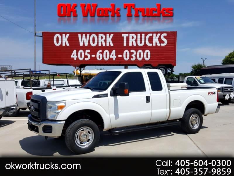 2013 Ford F-250 SD XL SuperCab 4WD