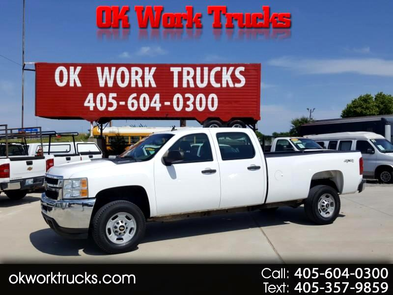 2011 Chevrolet Silverado 2500HD Work Truck Crew Cab 4WD