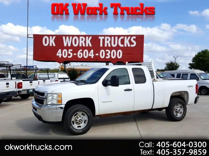 2013 Chevrolet Silverado 2500HD Work Truck Ext. Cab 4WD