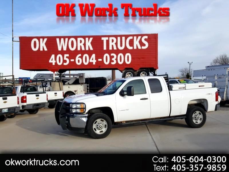 Chevrolet Silverado 2500HD Work Truck Ext. Cab 4WD 2012
