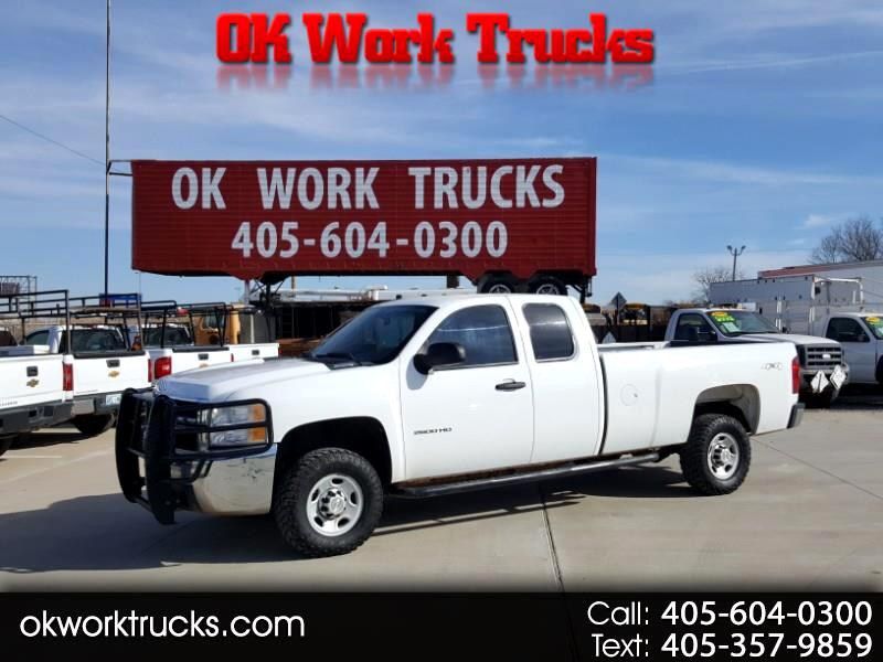 Chevrolet Silverado 2500HD Work Truck Ext. Cab 4WD 2010