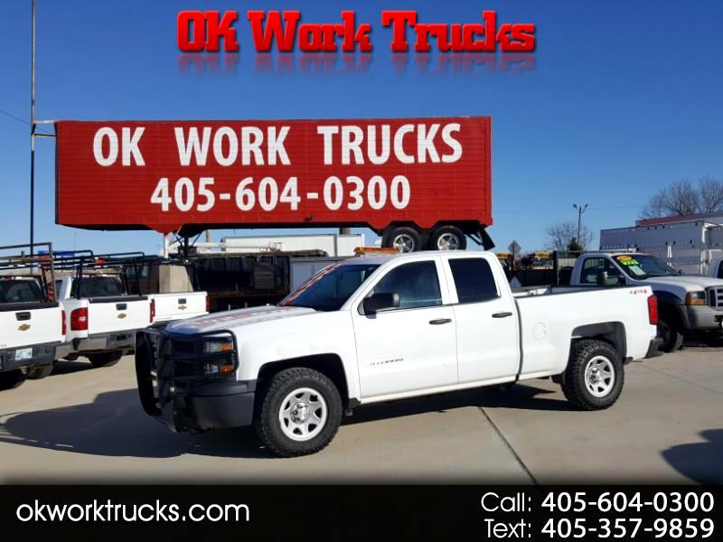 Chevrolet Silverado 1500 Work Truck 1WT Double Cab 4WD 2014