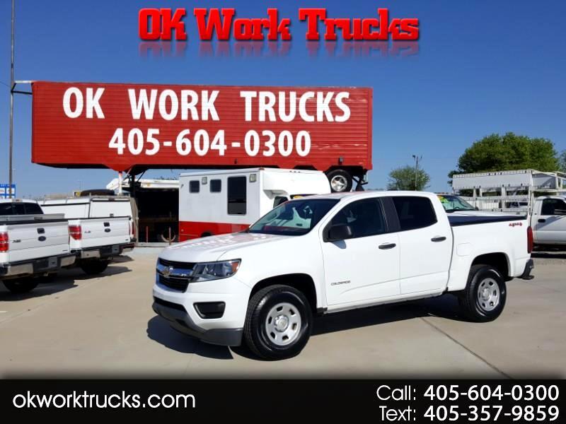 Chevrolet Colorado Work Truck Crew Cab 4WD 2016