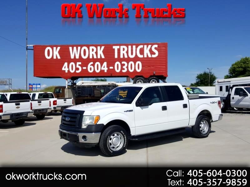 Ford F-150 XL SuperCrew 4WD 2011