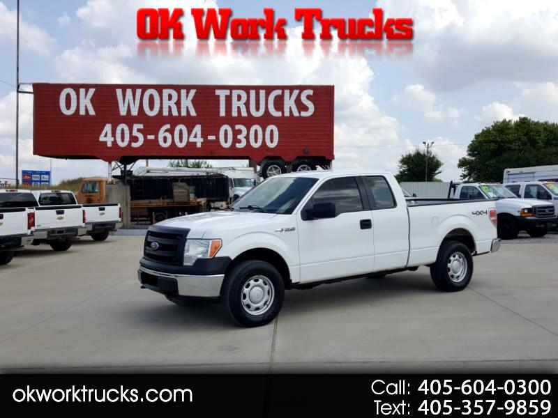 Ford F-150 XL SuperCab 4WD 2013