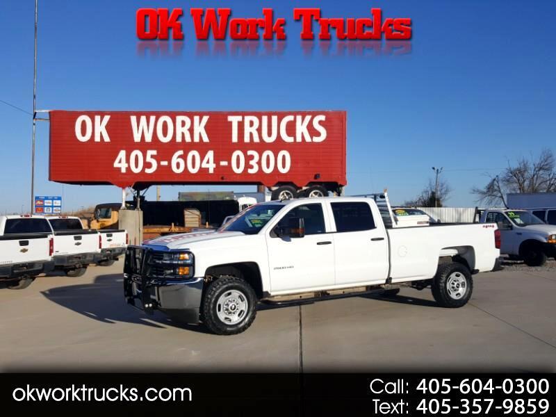 Chevrolet Silverado 2500HD Work Truck Crew Cab 4WD 2017