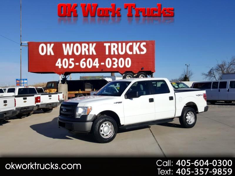 Ford F-150 XL SuperCrew 4WD 2013