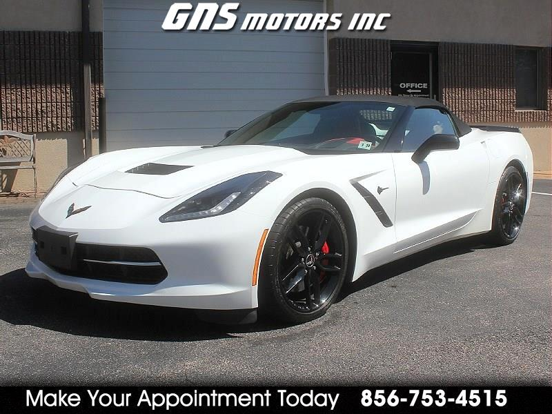 Chevrolet Corvette 2dr Stingray Z51 Conv w/3LT 2015