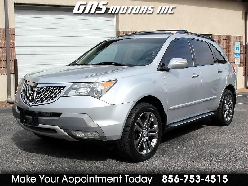 Acura MDX 4WD 4dr Tech/Entertainment Pkg 2008