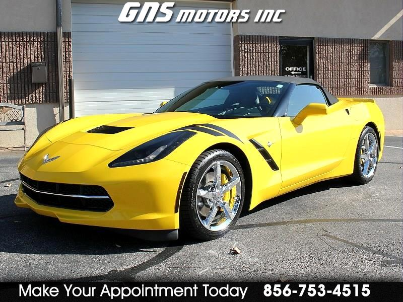 Chevrolet Corvette Stingray 2dr Conv w/3LT 2014