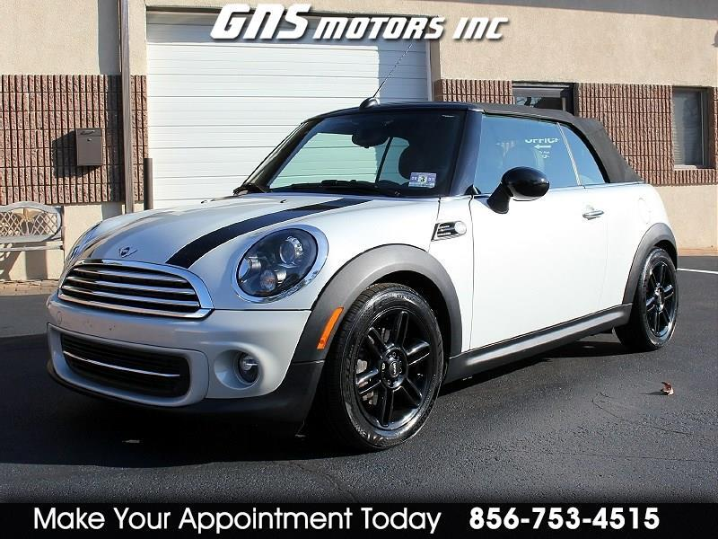 MINI Cooper Convertible 2dr 2014