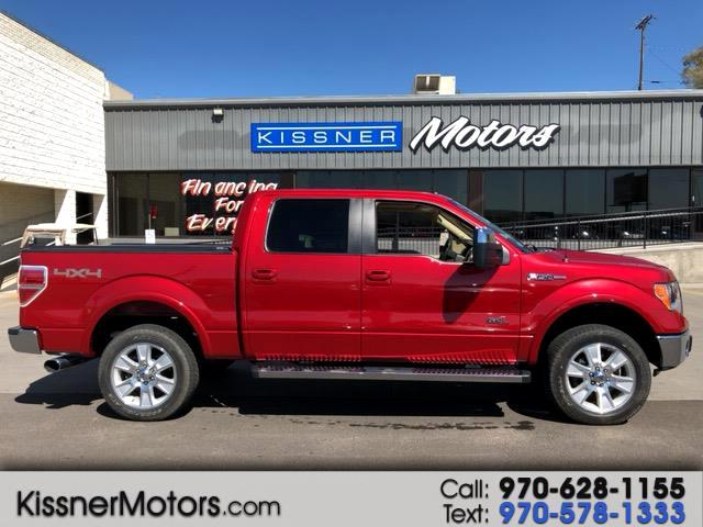 """2011 Ford F-150 4WD SuperCrew 157"""" Lariat w/HD Payload Pkg"""