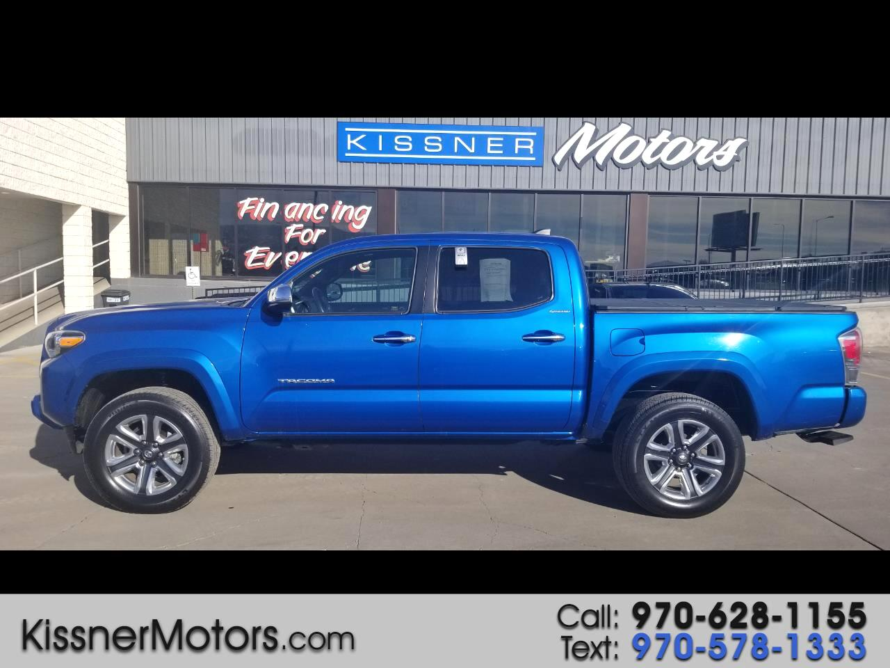 2016 Toyota Tacoma 4WD Double Cab V6 AT Limited (Natl)
