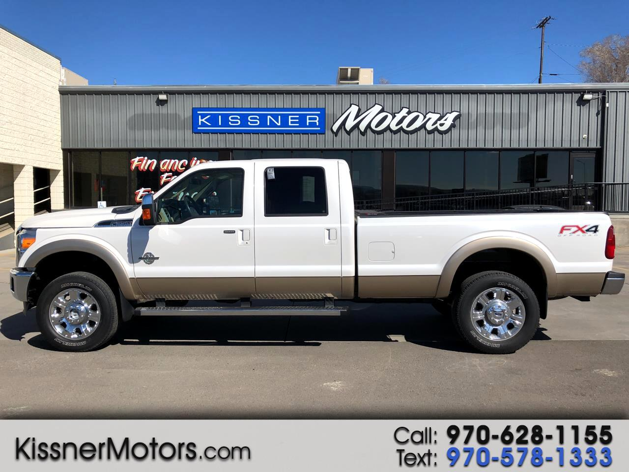 "2013 Ford Super Duty F-350 SRW 4WD Crew Cab 156"" Platinum"