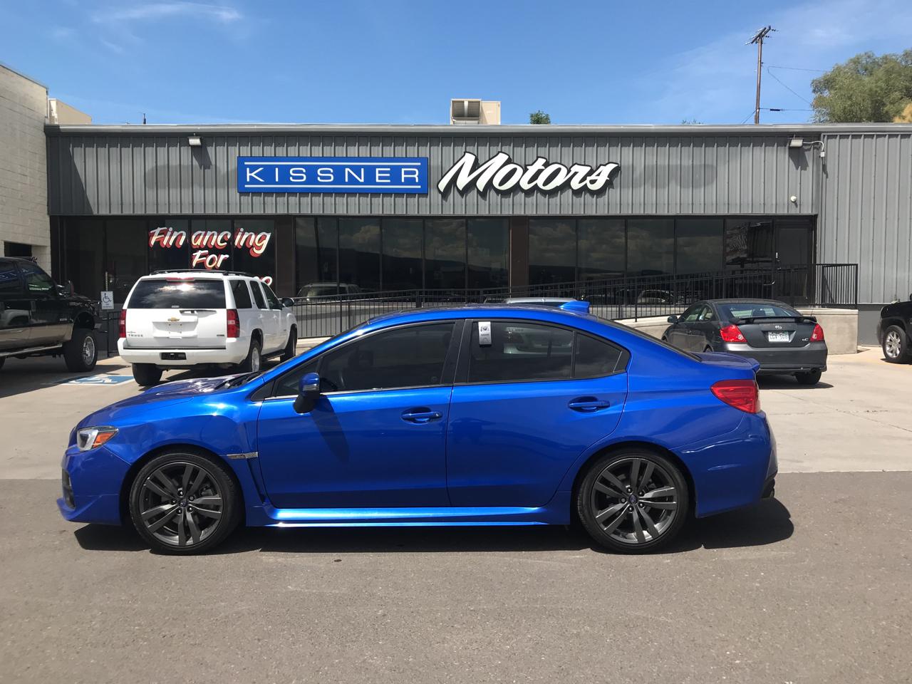 Subaru WRX Limited Manual 2017