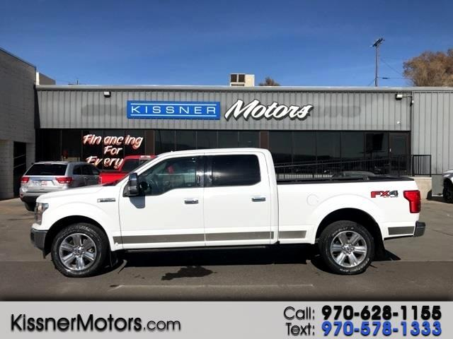 "Ford F-150 SuperCrew 150"" Lariat 4WD 2018"