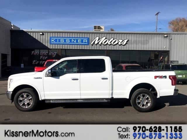 "Ford F-150 SuperCrew 150"" Lariat 4WD 2017"