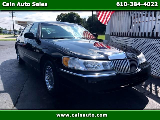 2000 Lincoln Town Car 4dr Sdn Cartier Premium