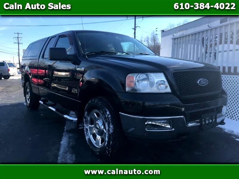 2004 Ford F-150 XLT 4WD SuperCab 6.5' Box
