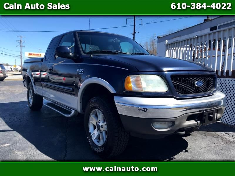 2002 Ford F-150 Lariat SuperCab Long Bed 4WD