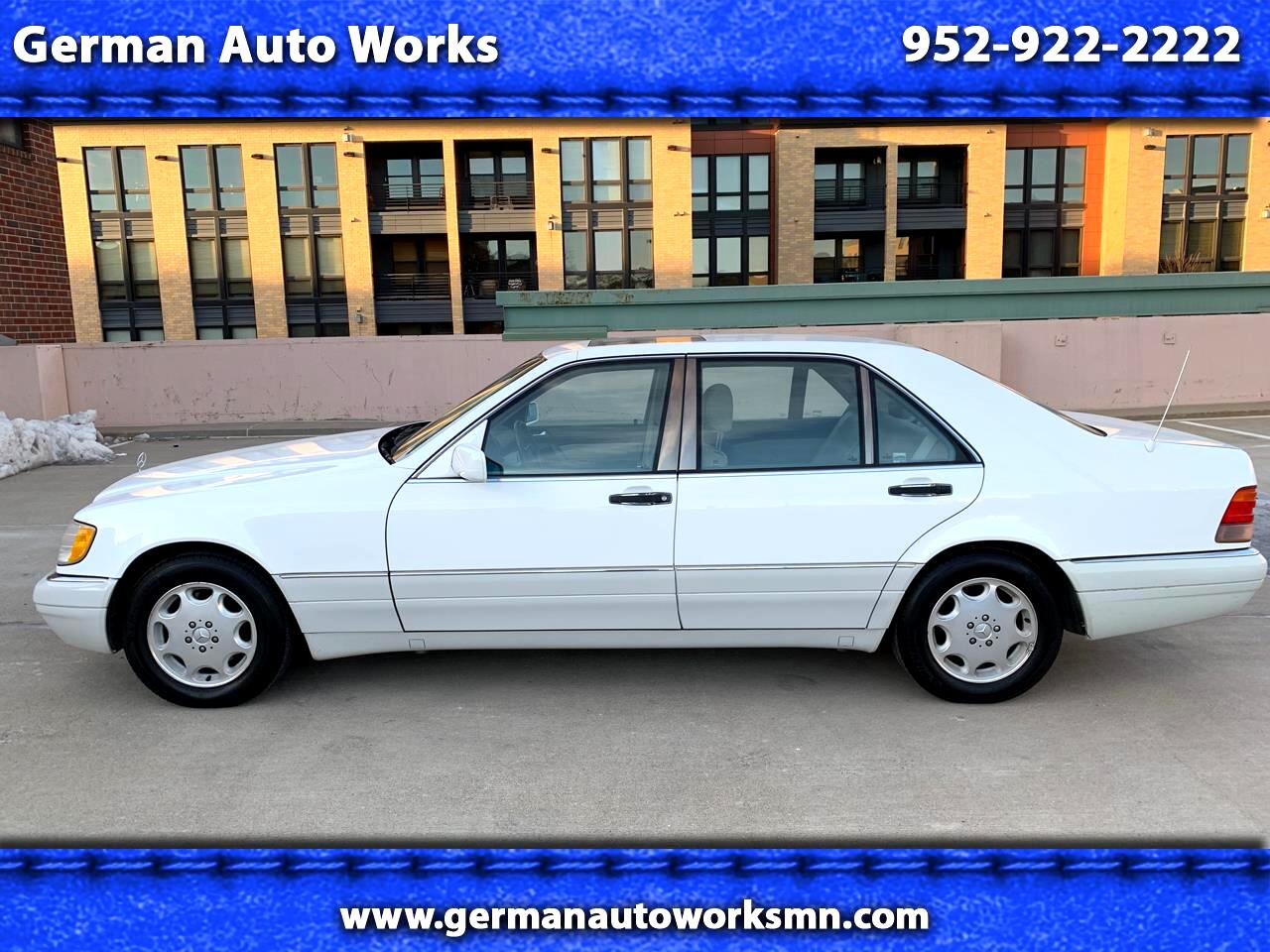1996 Mercedes-Benz S Class 4dr Sedan 3.2L Lwb