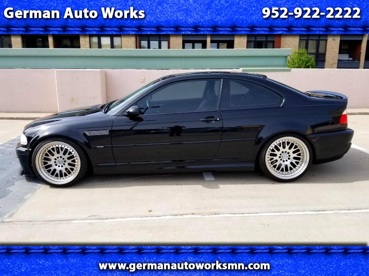 2002 BMW 3 Series M3 2dr Cpe