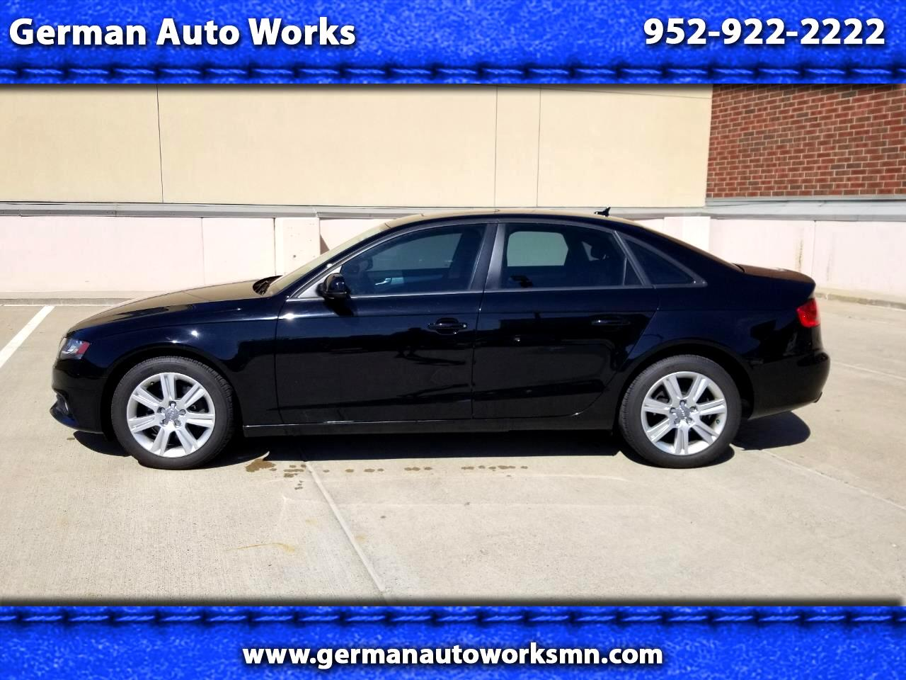 2010 Audi A4 4DR Sedan Manual Transmission Quattro 2.0T Premium