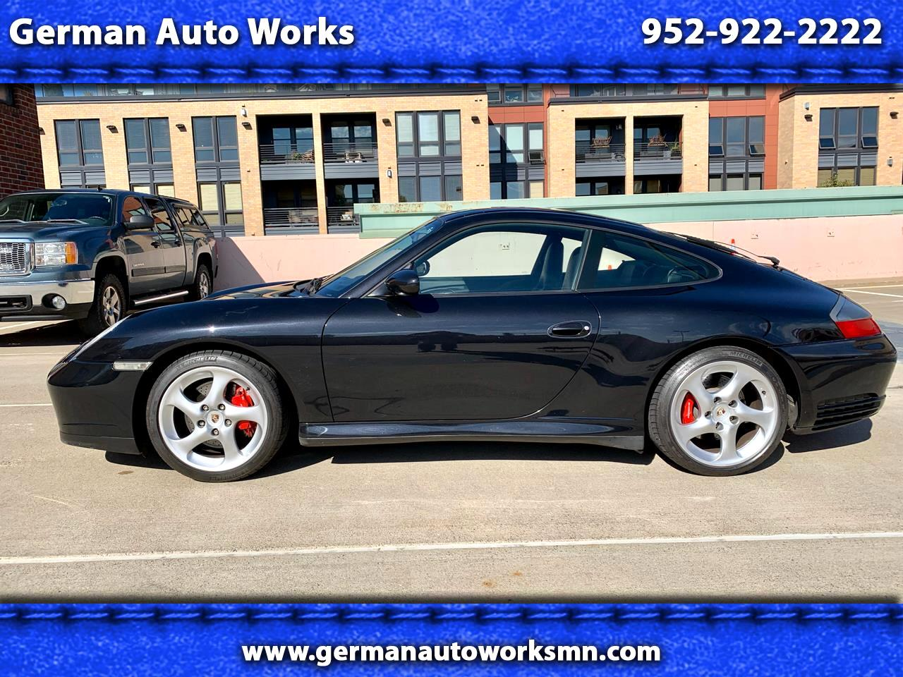 2002 Porsche 911 Carrera 2dr Carrera Cpe 6-Spd Manual