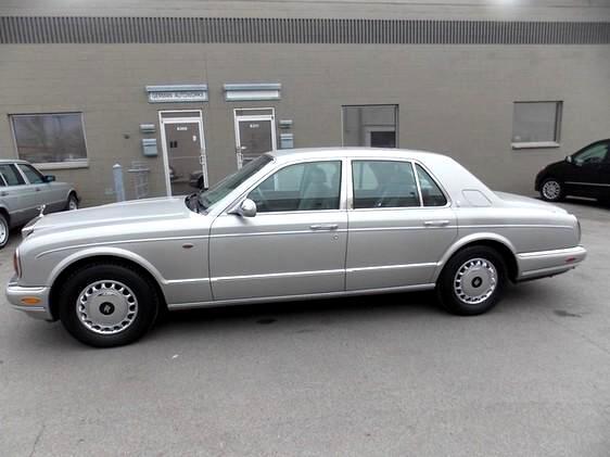 1999 Rolls-Royce Silver Seraph Sedan