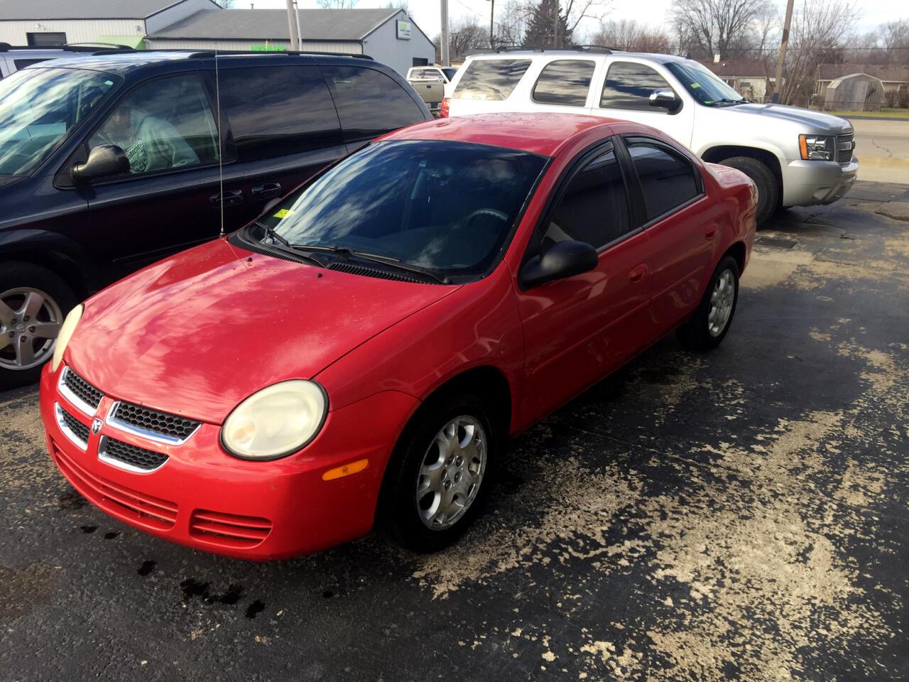 2005 Dodge Neon 4dr Sdn SXT
