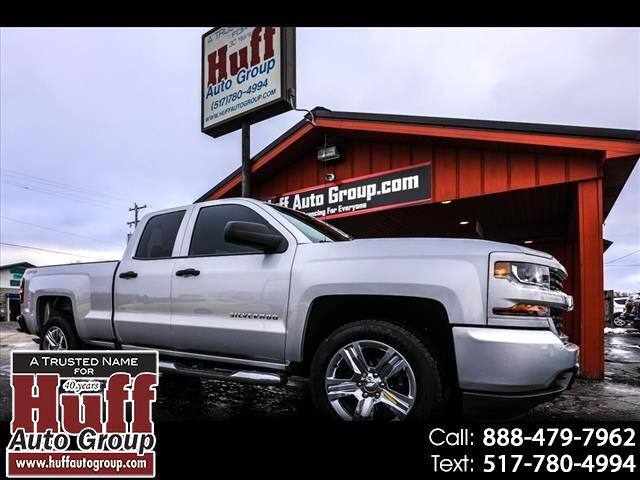 "Chevrolet Silverado 1500 4WD Double Cab 143.5"" Custom 2017"