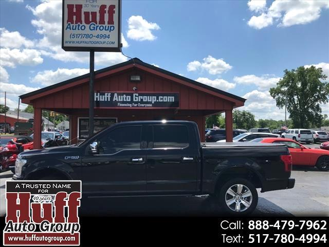 "Ford F-150 4WD SuperCrew 145"" Platinum 2018"