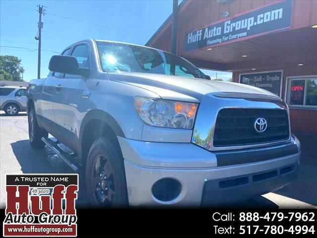Toyota Tundra 4WD Truck Dbl 5.7L V8 6-Spd AT (Natl) 2009