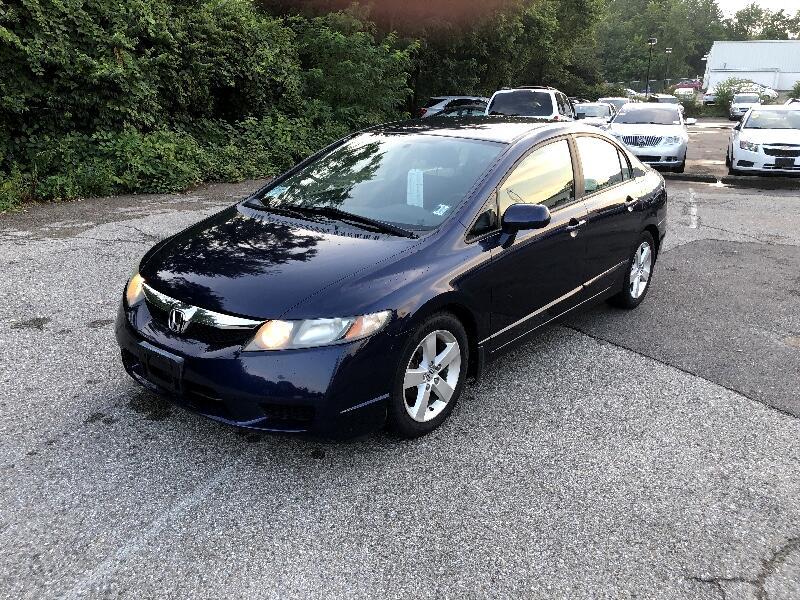Honda Civic LX-S Sedan 5-Speed AT 2009