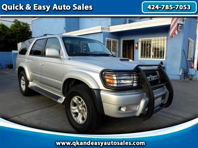 2001 Toyota 4Runner 4dr Limited 3.4L Auto 4WD