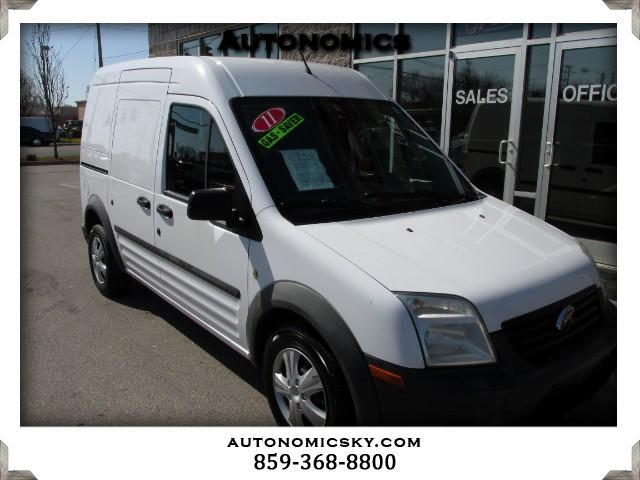 2011 Ford Transit Connect XL with Side and Rear Door Glass