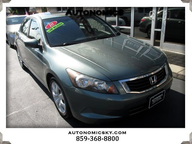 2010 Honda Accord EX Sedan AT