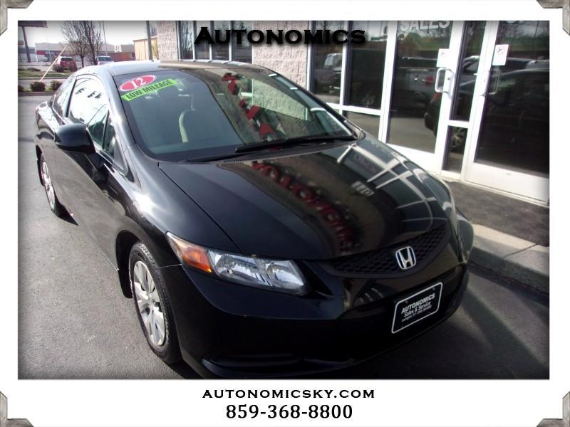 2012 Honda Civic LX Coupe 5-Speed AT