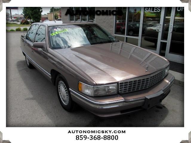 1995 Cadillac DeVille Sedan