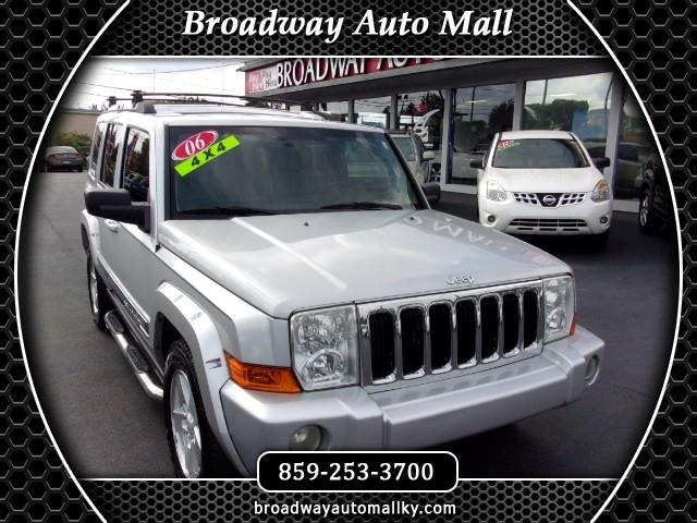 2006 Jeep Commander Limited 4WD