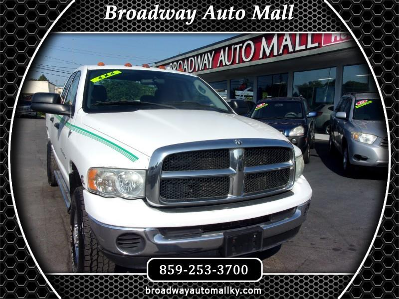 2004 Dodge Ram 3500 ST Quad Cab Long Bed 4WD