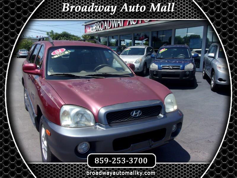 Hyundai Santa Fe GLS 2.7L 2004