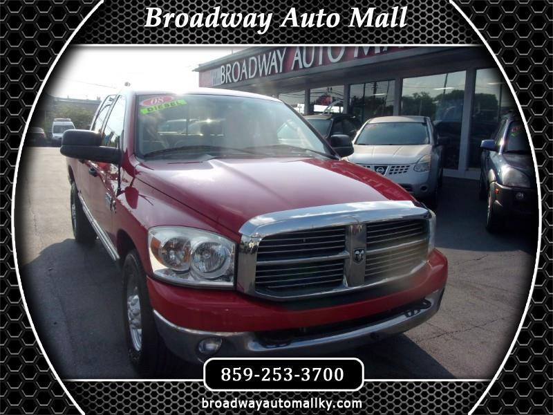 2008 Dodge Ram 2500 SXT Quad Cab Long Bed 2WD
