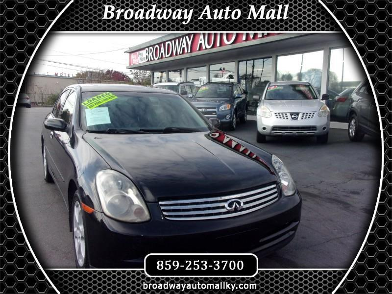 Infiniti G35 Sedan AWD with Leather 2004