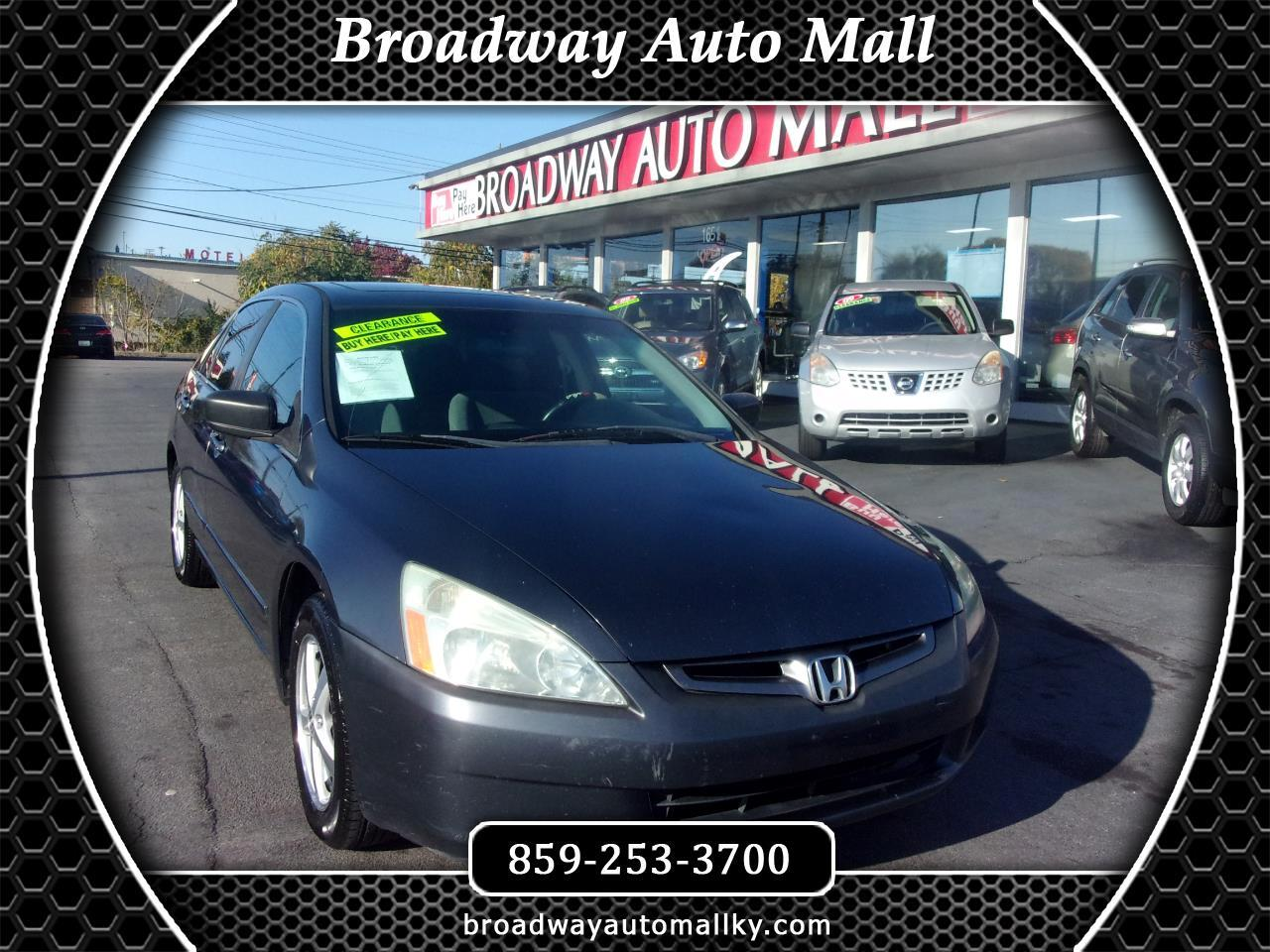 Honda Accord EX-L Sedan AT with XM Radio 2004