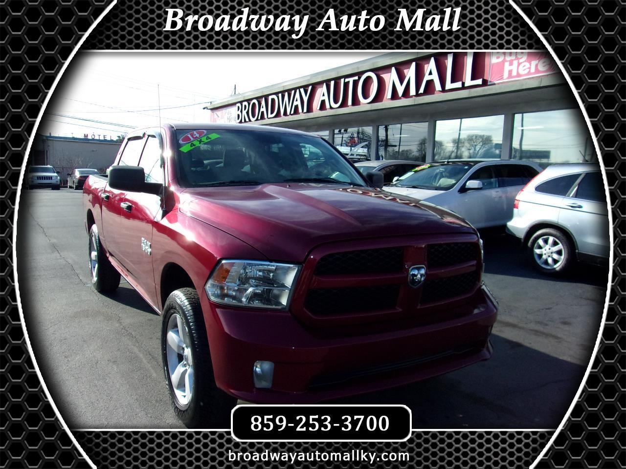 North Broadway Auto Sales >> Used 2014 Ram 1500 Tradesman Crew Cab Swb 4wd For Sale In
