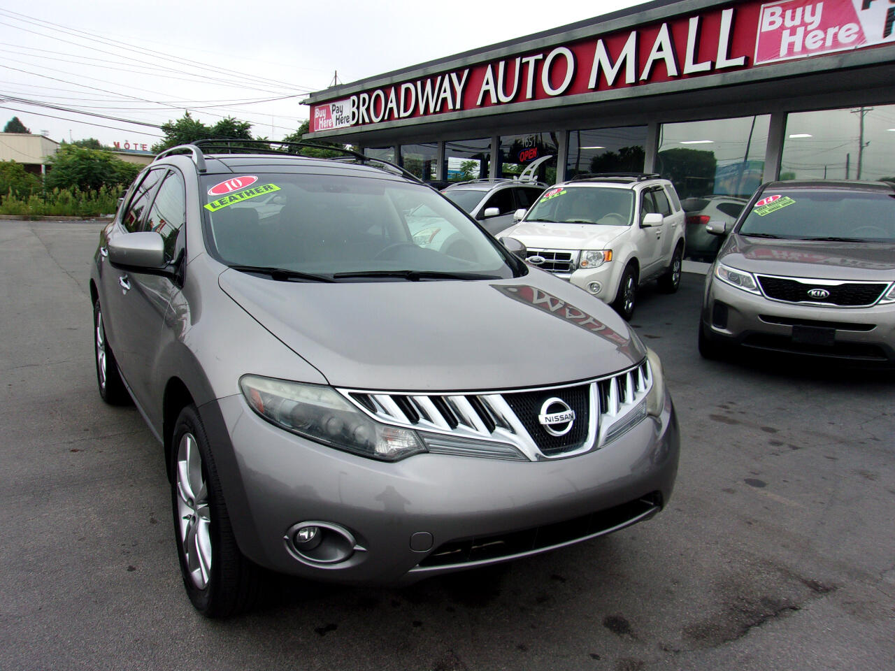 Nissan Murano AWD 4dr LE 2010