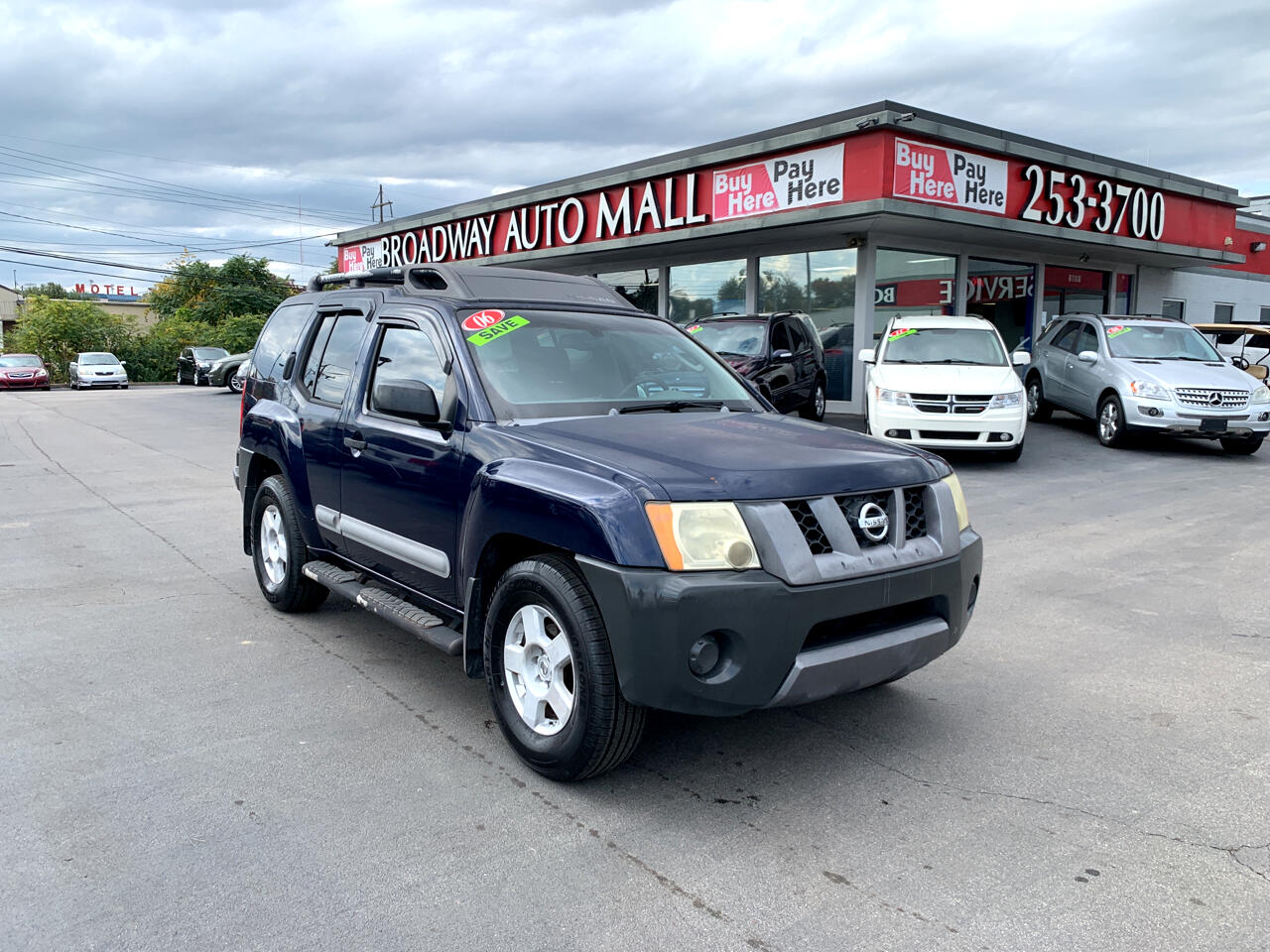 Used 2006 Nissan Xterra 4dr S V6 Auto 2wd For Sale In Lexington Ky 40505 Broadway Auto Mall